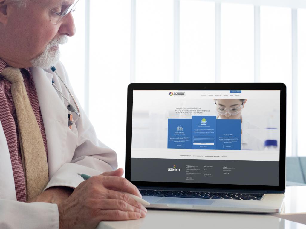 Application métier recherche médicale Laravel | Bootstrap | Paiement en ligne