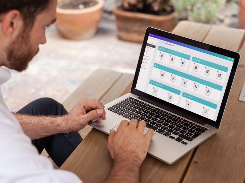 Site + Application de diagnostic précarité énergétique   Symfony | Ionic | Synchros offline